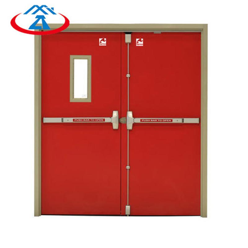 Fire Resistant Door Commercial Emergency Exit Single Double Fire Rated Door