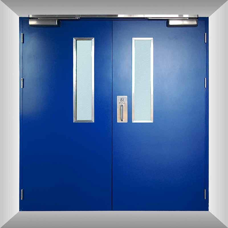 Galvanized Steel Fire Rated Security Door