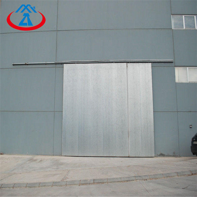 Good quality durable industrial sliding door for factory