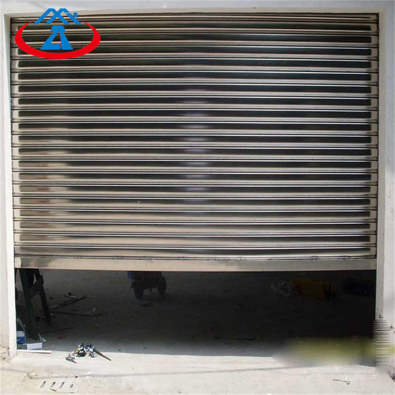 Durable steel roll up door stainless steel rolling shutter