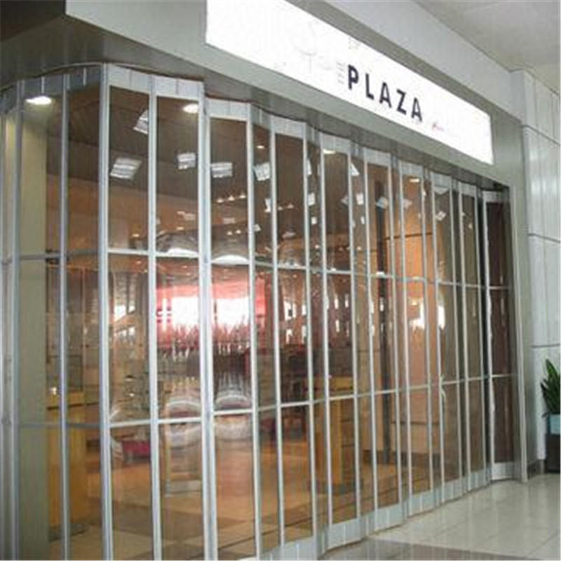 Excellent Quality Clear Horizontal Transparent Folding Door