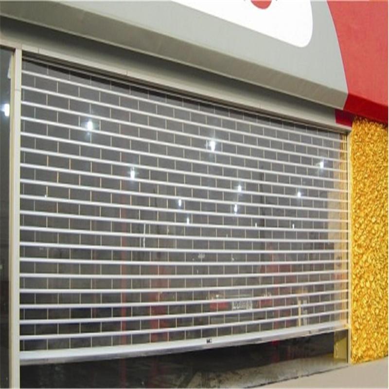 Electric Transparent Polycarbonate Roller Shutter Door