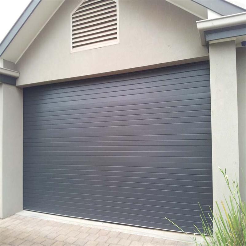 Remote Control Electric steel Overhead Sectional Garage Door