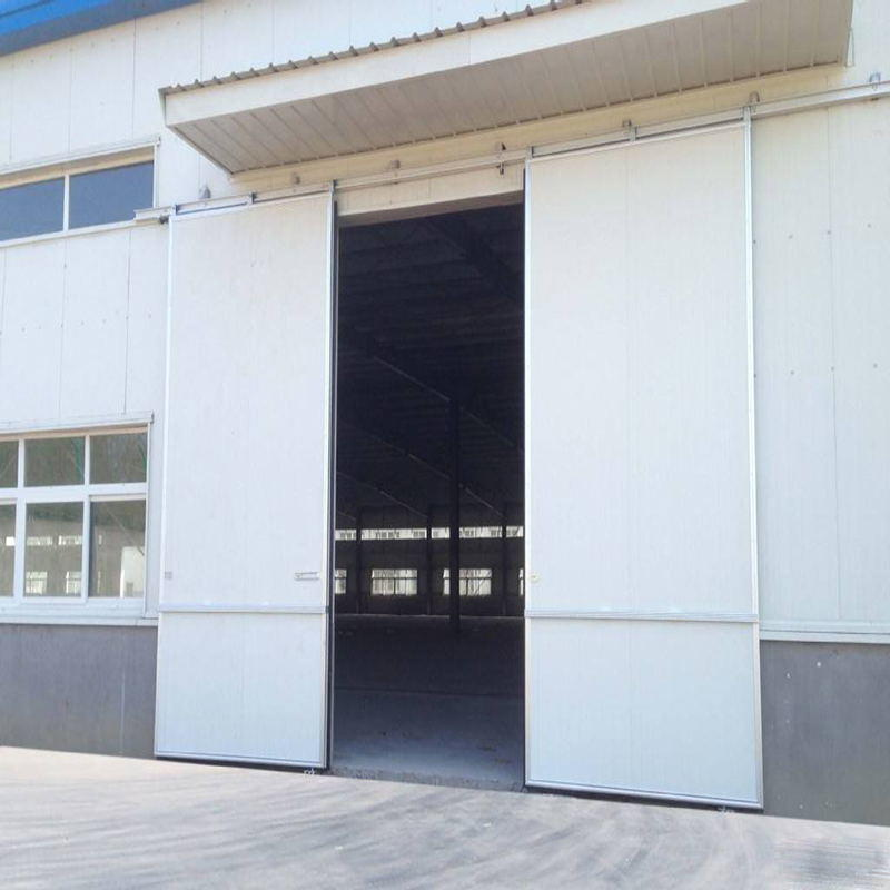 Anti-Hurricane Windproof Industrial Sliding Door