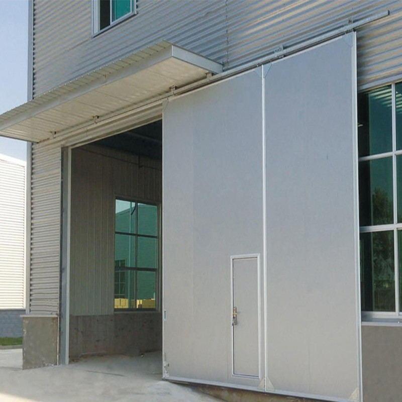Anti-Hurricane Windproof Industrial Sliding Door
