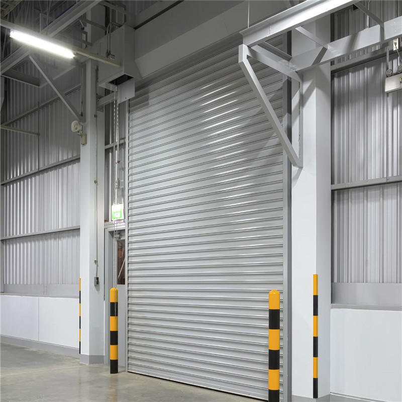Automatic industrial rolling lifting overhead door for factory