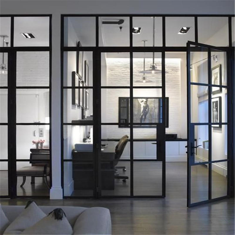Modern style aluminum slidng interior doors for sale