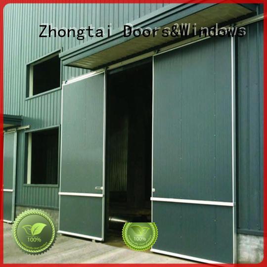 Zhongtai Custom industrial roller doors factory for industrial zone
