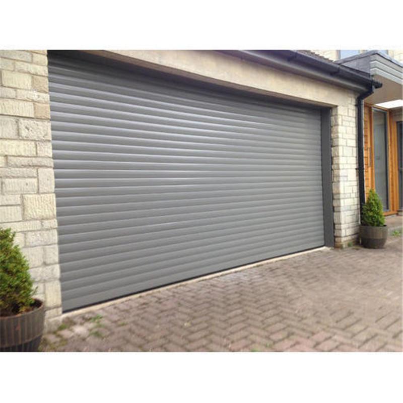 Automatic door aluminum roller shutter rolling door with motor
