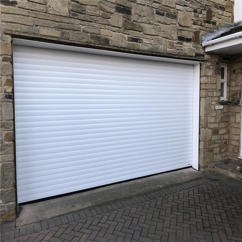 Electric roll up door aluminum roller shutter commercial using