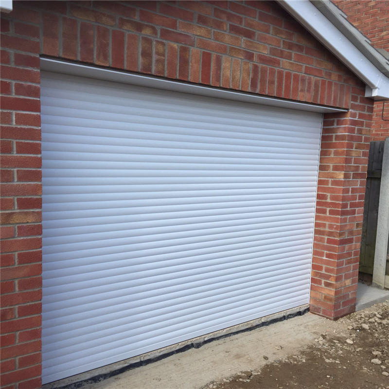 Electric roll up door aluminum roller shutter commercial using