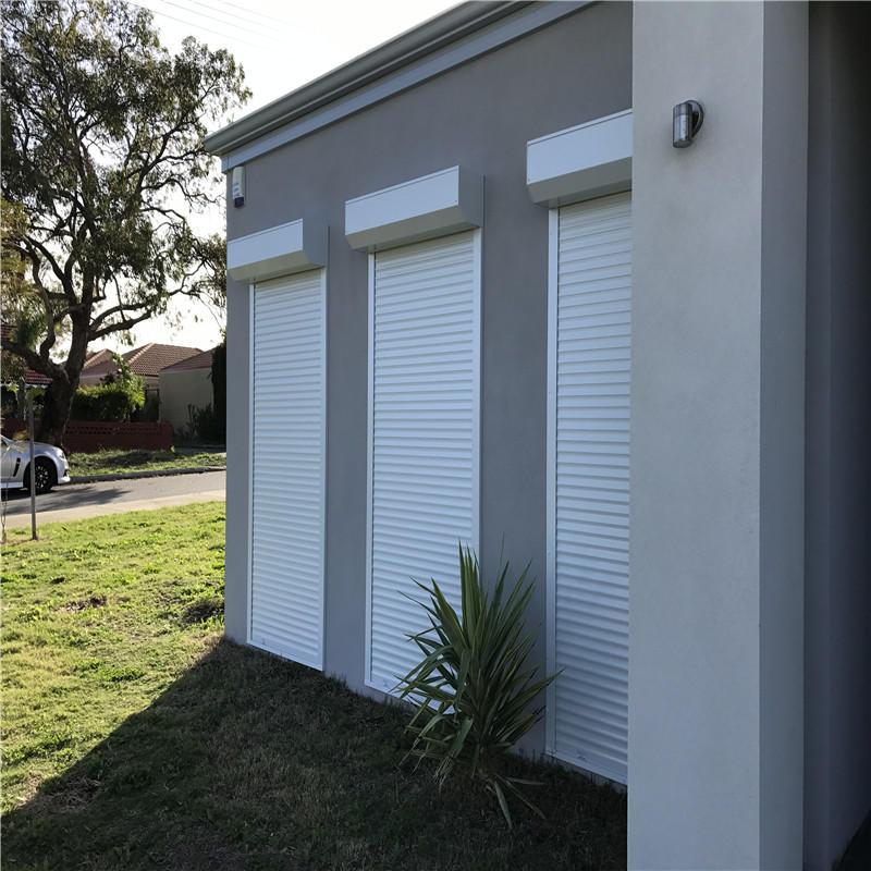 Automatic roll up door vertical rolling aluminum roller shutter door