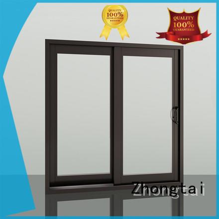 Zhongtai aluminim aluminium window manufacturers company for house
