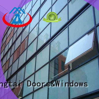 Zhongtai Wholesale glass curtain wall manufacturers for house