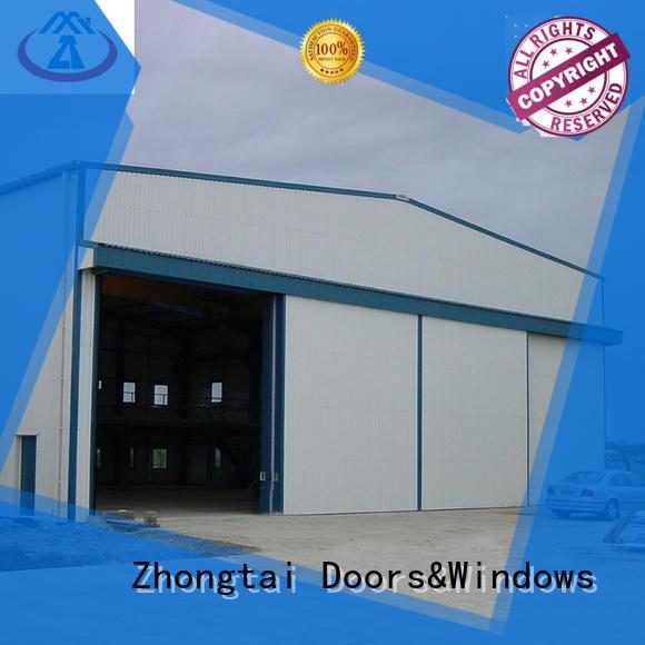 Latest industrial sliding door ppgi for sale for industries