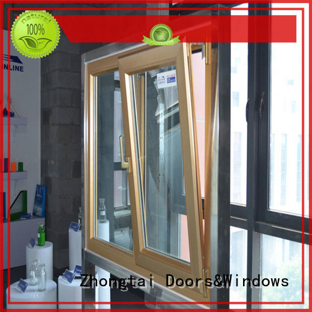 Zhongtai thermal aluminum windows price manufacturers for villa