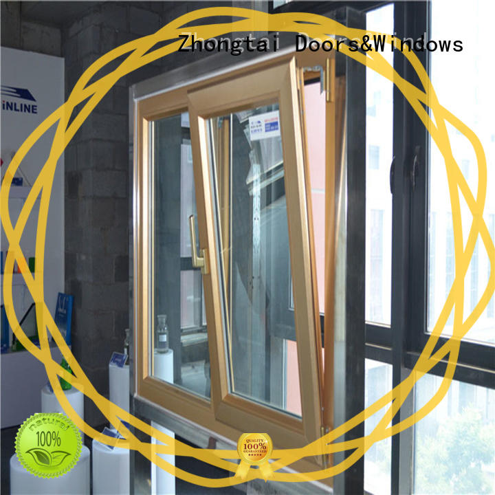 Zhongtai beautiful aluminum windows price suppliers for house