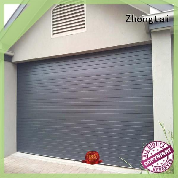 Zhongtai home roll up garage doors company for house