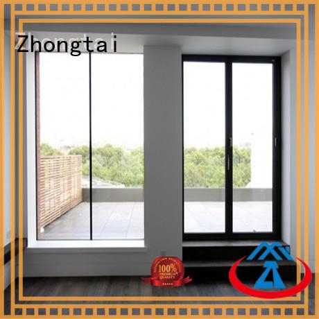 Zhongtai broken aluminium bifold doors prices company for hospital