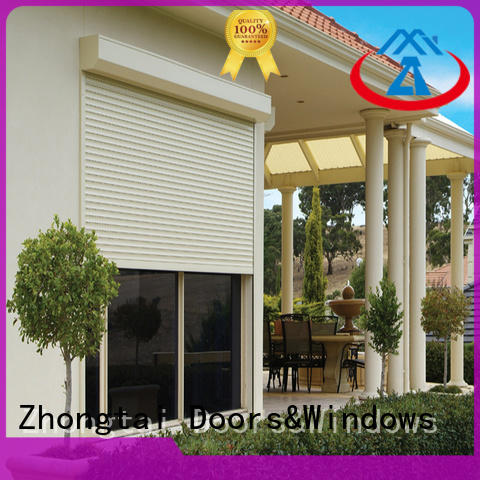 Wholesale insulated roll up garage doors aluminium suppliers for house