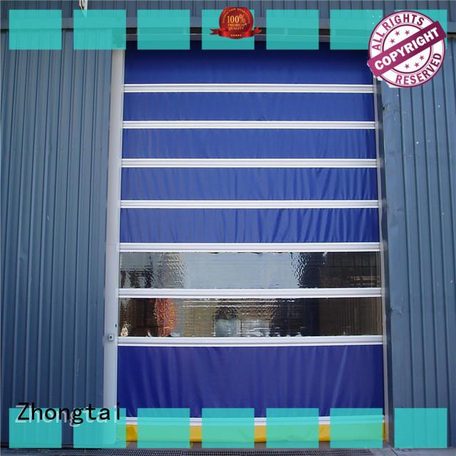 Zhongtai durable high speed doors suppliers for factory