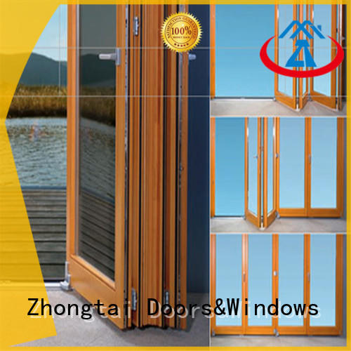 Zhongtai New aluminium door frame supply for hotel