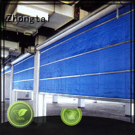 Zhongtai sliding residential fire rated doors factory for warehouses