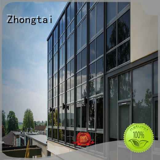 safety glass curtain wall tempered series for house