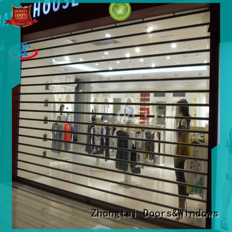 Best shop roller shutters automatic factory for window display