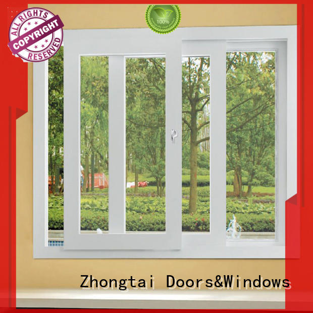 Zhongtai New aluminium window manufacturers for sale for house