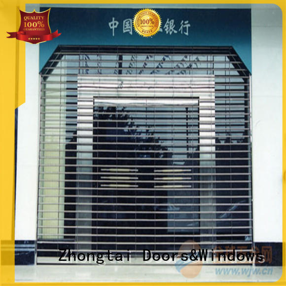 Best security shutters roller suppliers for bank