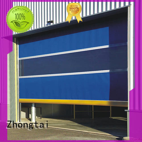 Zhongtai automatic speed door supply for industrial zone