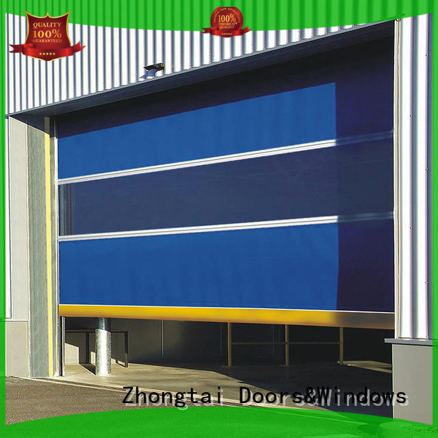 durable high speed shutter door roll supply for workshop