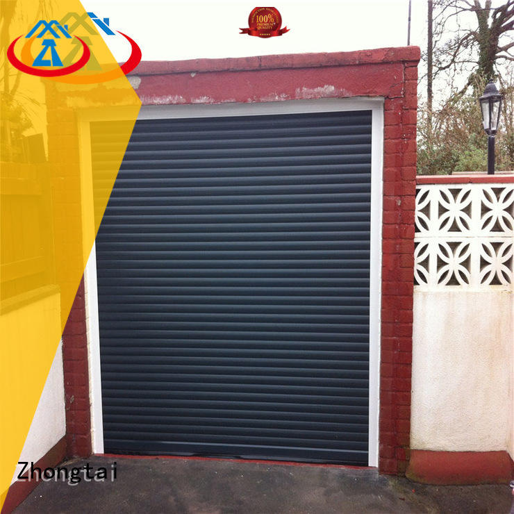 Top metal shutters surface supply for house