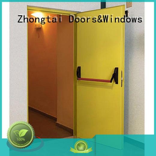 Zhongtai New garage fire door for business for building