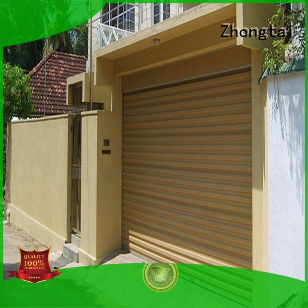 Zhongtai safety hurricane doors for business for industrial zone