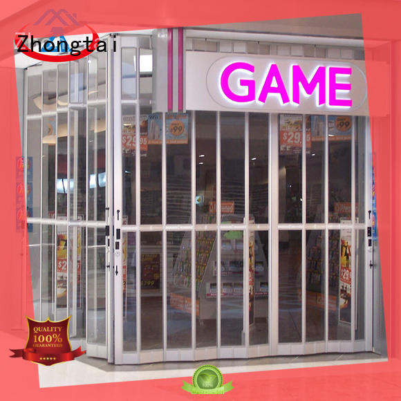 Latest shop shutter highend suppliers for shopping mall