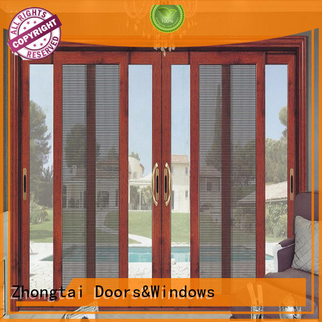 Zhongtai window aluminium window manufacturers for sale for house