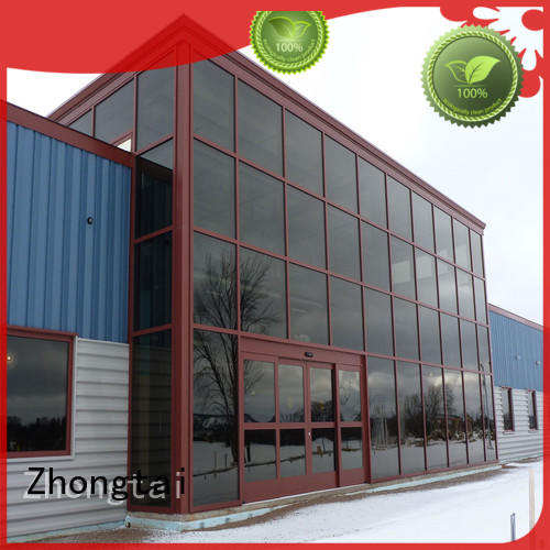 Zhongtai tempered glass curtain wall factory for buliding