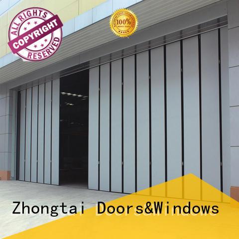 anti-hurricane industrial roller doors performance factory for industries