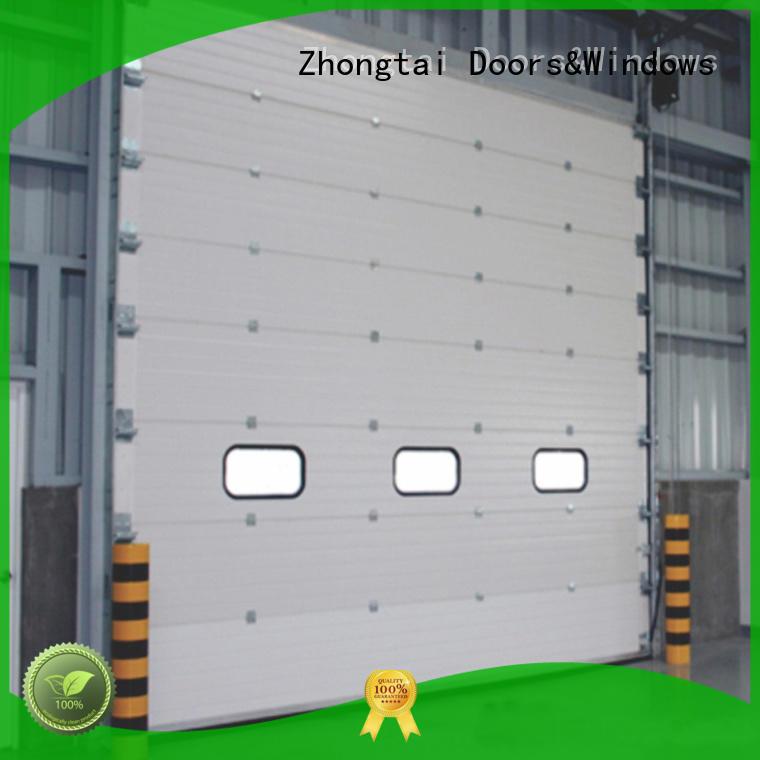 Zhongtai Custom industrial roller shutter doors manufacturers for warehouse