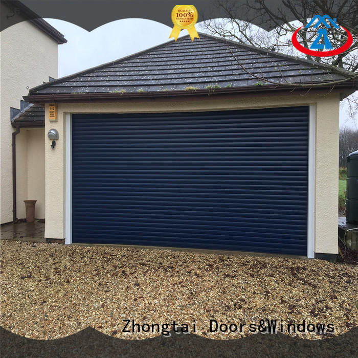 Zhongtai door metal shutters for business for garage