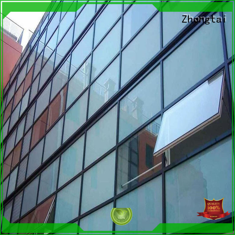 Zhongtai performance glass curtain company for buliding