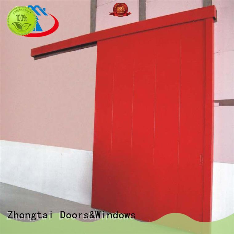Zhongtai Wholesale industrial sliding door manufacturers for factory
