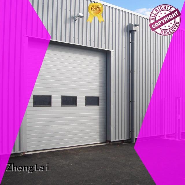 Zhongtai quality industrial garage doors supply for automobile shop