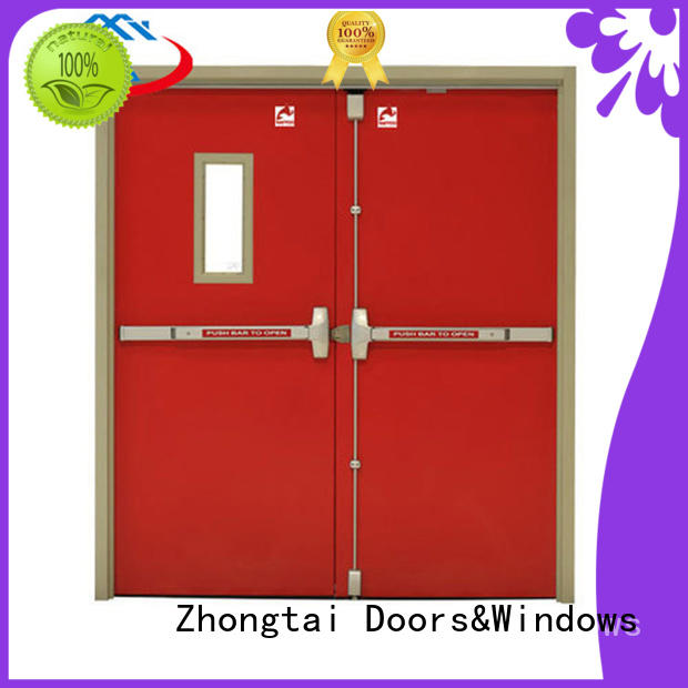 Zhongtai Wholesale fire doors for sale manufacturers for indoor
