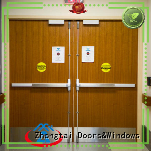 Wholesale fire resistant door commercial manufacturers for hospital