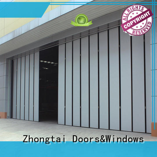 Zhongtai High-quality industrial sliding door factory for industrial zone