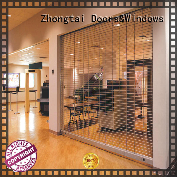 Zhongtai quality security grilles for business for shop