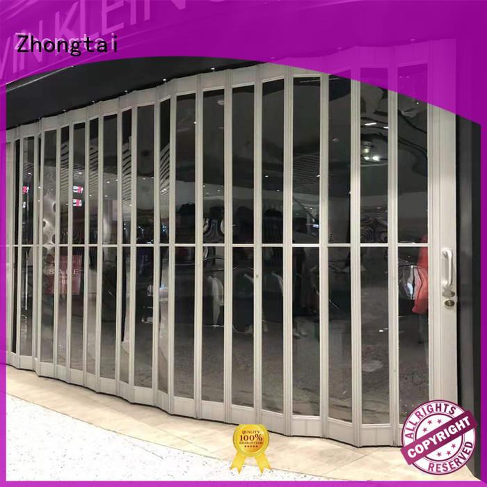 Zhongtai excellent shop shutter supply for shopping mall